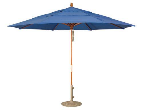 Treasure Garden 9′ Quad Pulley Lift Umbrella SWV (Single Wind Vent)