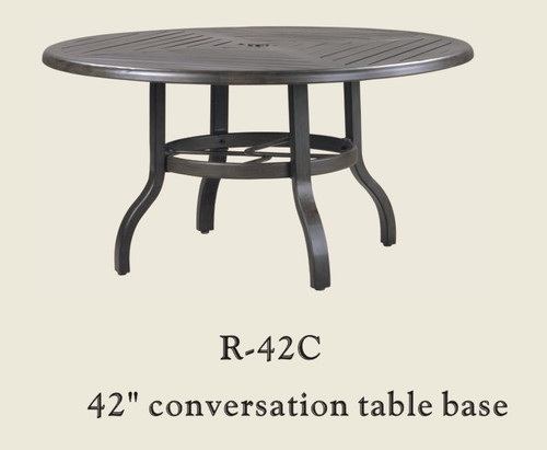 """Patio Renaissance 42"""" Conversation Table Base Only"""