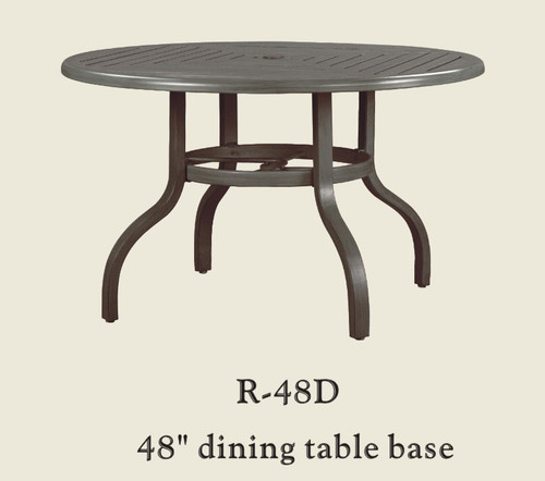 "Patio Renaissance 48"" Dining Table Base Only"