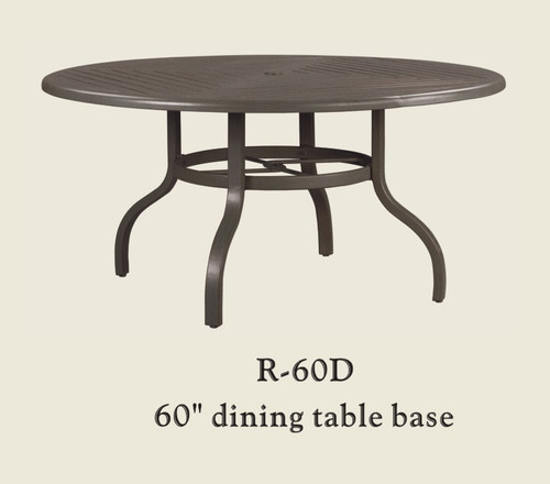 "Patio Renaissance 60"" Dining Table Base Only"