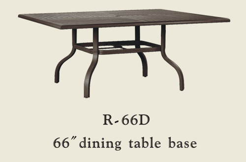"""Patio Renaissance 66"""" Dining Table Base Only"""
