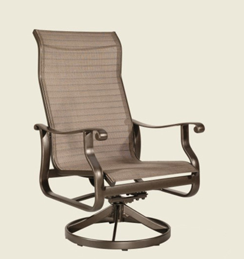 Patio Renaissance Mandalay Collection Swivel Chat Chair