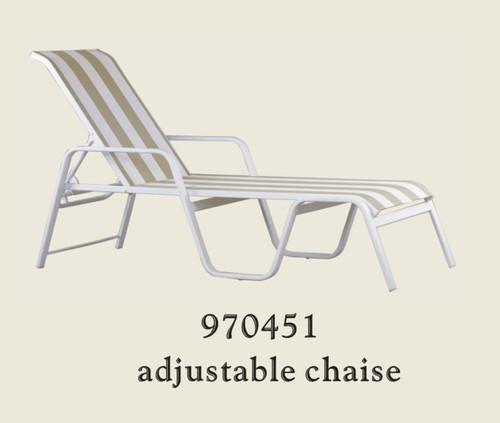 Patio Renaissance Aruba Collection Single Adjustable Chaise