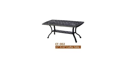 "DWL Garden 21""x42"" Coffee Table"