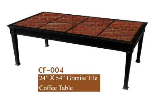 "DWL Garden 24""x54"" Granite Tile Coffee Table"