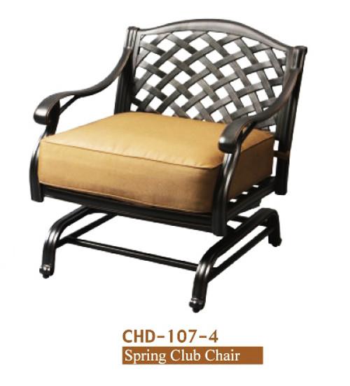 DWL Garden New Providence Spring Club Chair