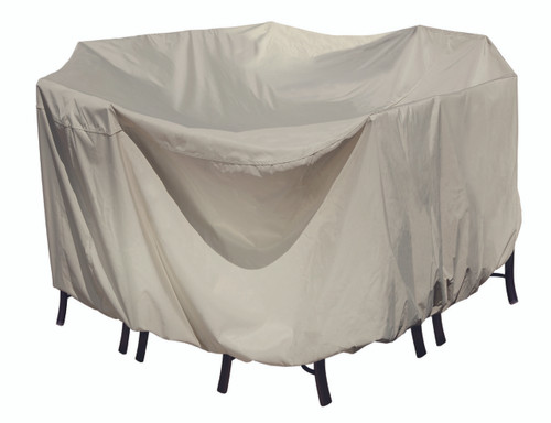 Treasure Garden Protective Furniture Covers 54″ Round Table & Chairs