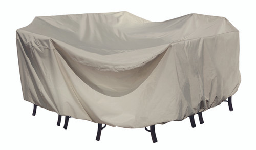 Treasure Garden Protective Furniture Covers Fits all Small Oval/Rectangle Table & Chairs
