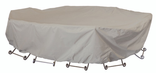 Treasure Garden Protective Furniture Covers 72″ Square Table & Chairs