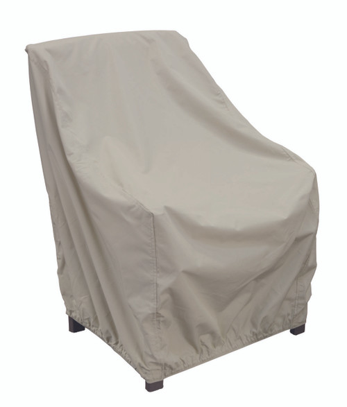 Treasure Garden Protective Furniture Covers High Back Chair with Elastic