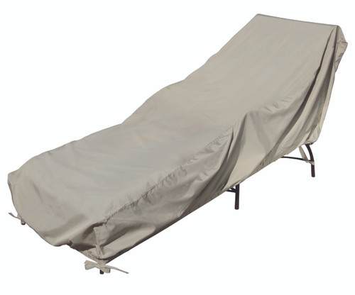Treasure Garden Protective Furniture Covers Small Chaise Lounge with Elastic