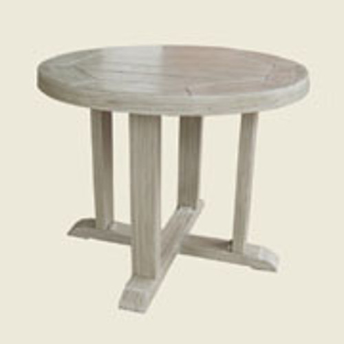 Patio Renaissance Hampton Round End Table
