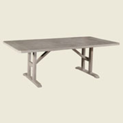 "Patio Renaissance Hampton 44""X 84"" Rectangle Dining Table"