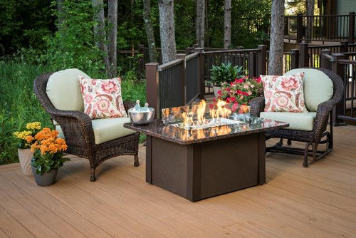 Outdoor Greatroom -  Grandstone Fire Pit Table