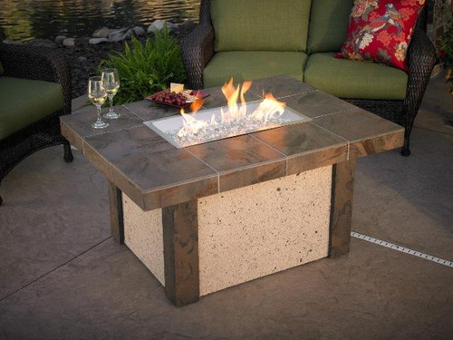 Outdoor GreatRoom Rivers Edge Fire Pit Table