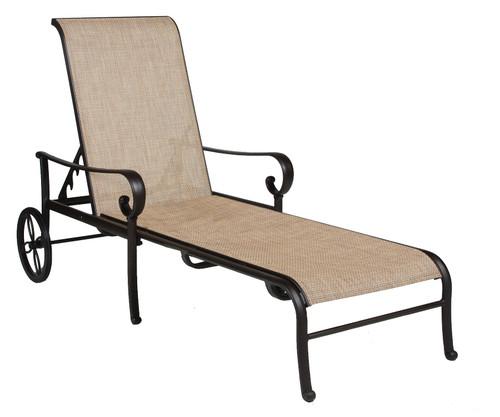 Hanamint  Santa Barbara Sling Adjustable Chaise