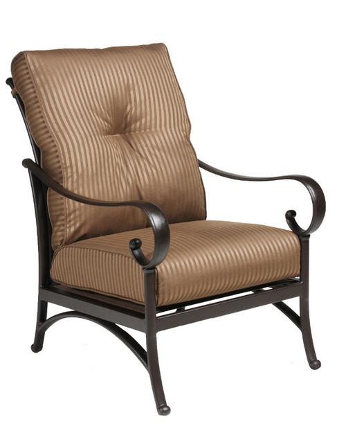 Hanamint-Alu-Mont Santa Barbara Deep Seating Club Chair