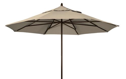 Telescope Casual 11' Commercial Market Umbrella