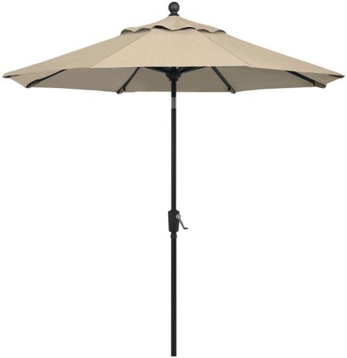 Telescope Casual 11' Value Market Umbrella with Powdercoat Aluminum Frame and Autotilt