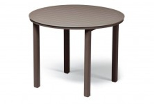 """Telescope Casual Marine Grade Polymer (MGP) 54"""" Round Bar Height Table with hole"""