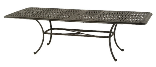 """Hanamint Table, Mayfair 42""""x76"""" Rectangular Extension Table Expands to 100"""""""