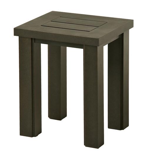 "Hanamint Table, Sherwood 16"" X 18"" Rectangular Tea Table"
