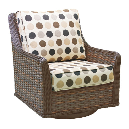 Patio Renaissance Catalina Collection High Back DS Swivel Glider