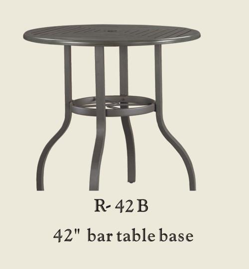 "Patio Renaissance 42"" Bar Table Base Only"
