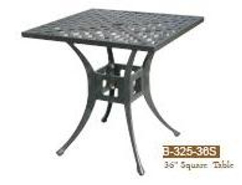 DWL Garden 36 inch Square Table