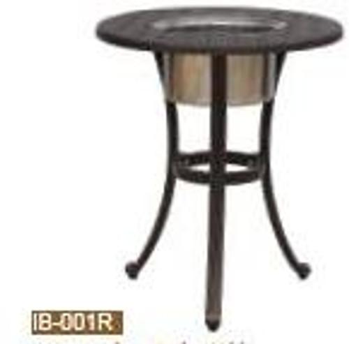 "DWL Garden 21"" Round Ice Bucket Table"