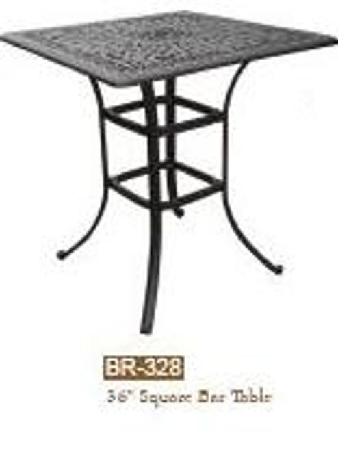 DWL Garden 36 Square Bar Table