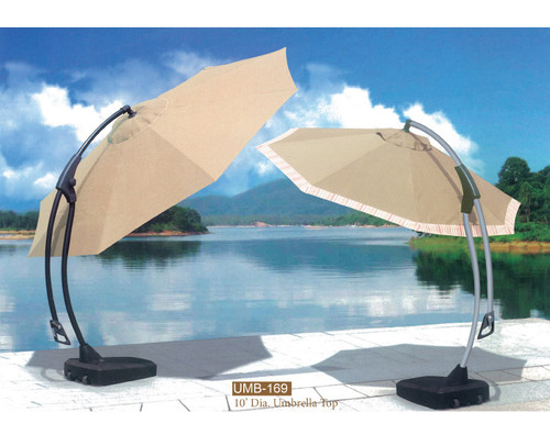 DWL Garden 10 ft Cantilever Umbrella-1