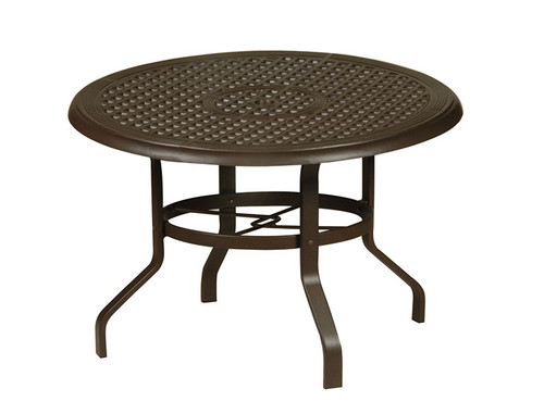 "Hanamint 48"" Round Cast Top Table with KD Base"