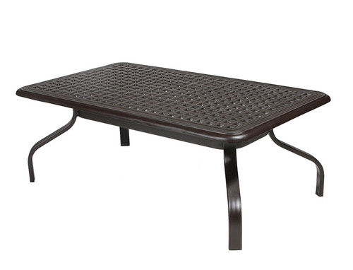 Hanamint table, 28 x 48 Rectangle Coffee Table