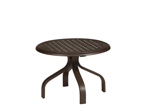 "Hanamint Table, 24"" Round Tea Table"