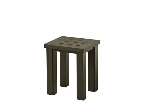 "Hanamint Sherwood 16"" x 18"" Slat Tea Table"