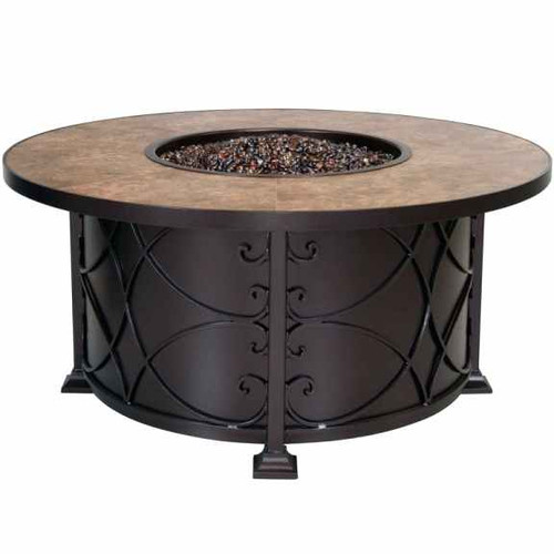OW Lee Viento Fire Pit. For over sixty years, OW Lee has been dedicated to the design and production of fine, handcrafted casual furniture. OW Lee pits are constructed of machine and hand bent plate aluminum and iron making them functional and inviting.