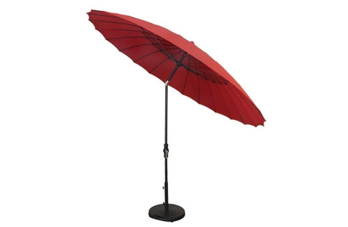 Treasure Garden Specialty Umbrella, 10' Shanghai Collar Tilt Umbrella