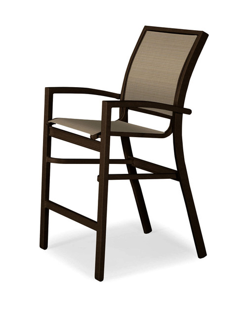 Telescope Casual Kendall Sling Balcony Height Stacking Café Chair