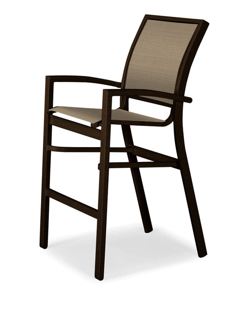 Telescope Casual Kendall Sling Bar Height Stacking Café Chair