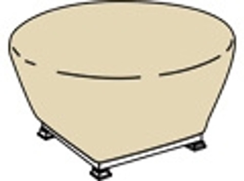 """Treasure Garden Protective Furniture Covers 36"""" to 42"""" Rd Fire Pit"""