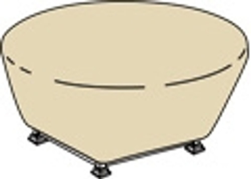 """Treasure Garden Protective Furniture Covers 48"""" to 54"""" Rd Fire Pit"""