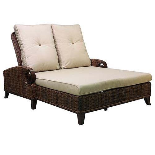 Patio Renaissance Antigua Double Adjustable Chaise