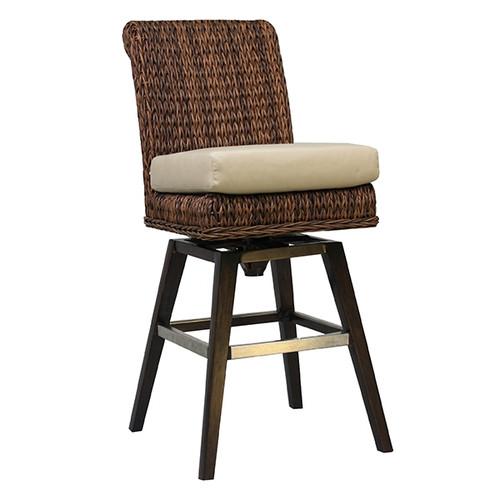 Patio Renaissance Antigua Swivel Bar Chair