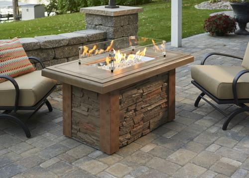 Outdoor Greatroom -  Sierra Linear Fire Pit Table