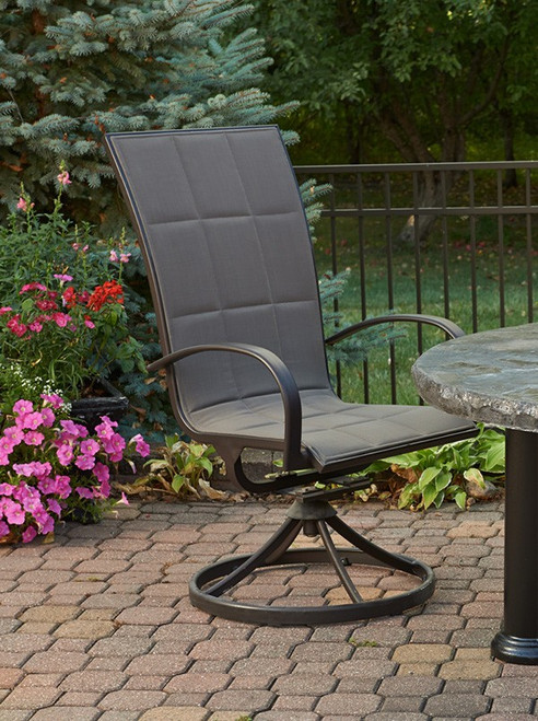 Outdoor Greatroom Empire Collection- Dining Chairs (set of 2)