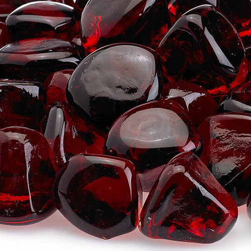 American Fireglass Ruby Red Zircon Fire Glass