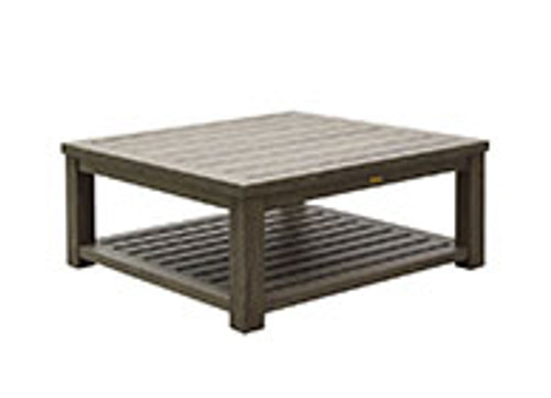 Patio Renaissance Seattle Collection Square Coffee Table