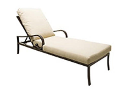 Patio Renaissance Key Largo Collection Cushioned Adjustable Chaise