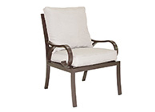 Patio Renaissance Key Largo Collection Cushioned Dining Chair